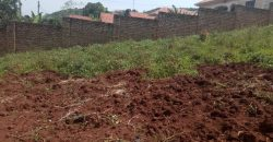 Plot for sale in Kira at 185,000,000