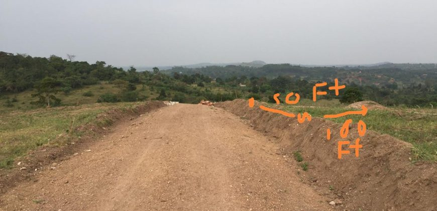 Land for sale in Nakasajja at 10,000,000.
