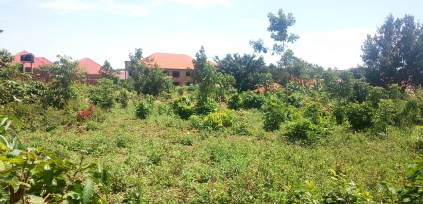 Land for sale in Najjera Kungu at 500,000,000.