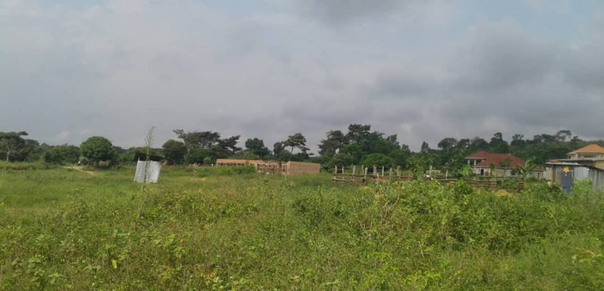 Land for sale in Namugongo at 370,000,000.