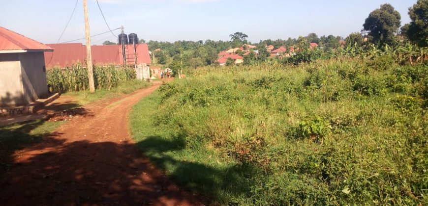 Plot for sale in Migadde at 15,000,000