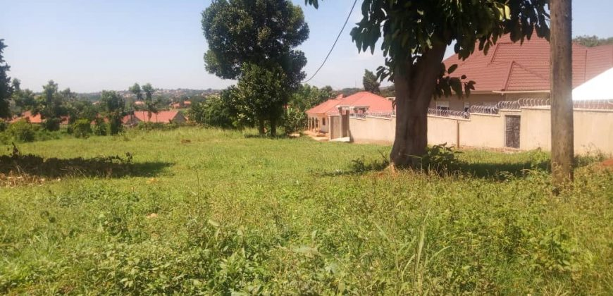 Plot for sale in Gayaza Migigye at 15,000,000.