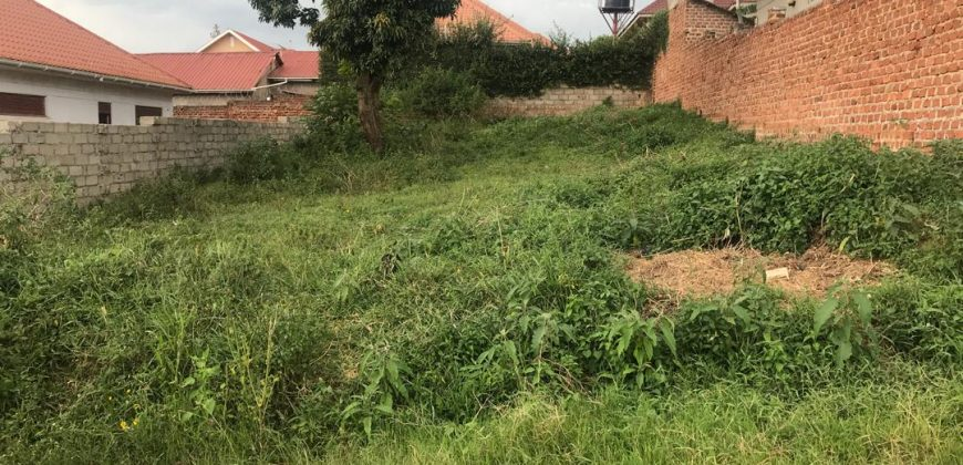 Plot for sale in Kitende at a 70,000,000