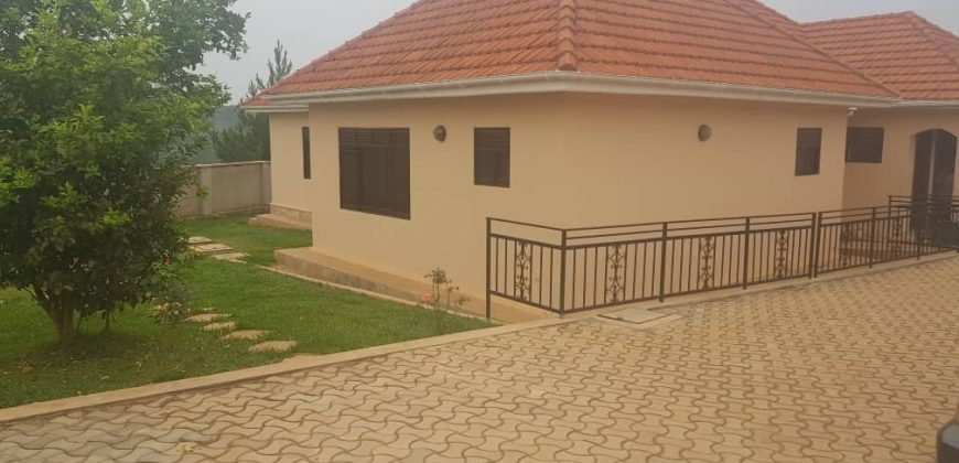 A brand new 3 bedroom house,with a boys quarter, on 25 decimals on sale