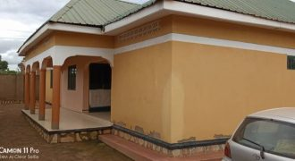 House for sale in Seeta Bajjo at shs 130,000,000
