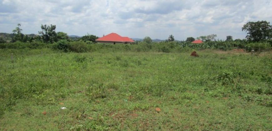 Plot for sale in Busukuma at shs 23,000,000