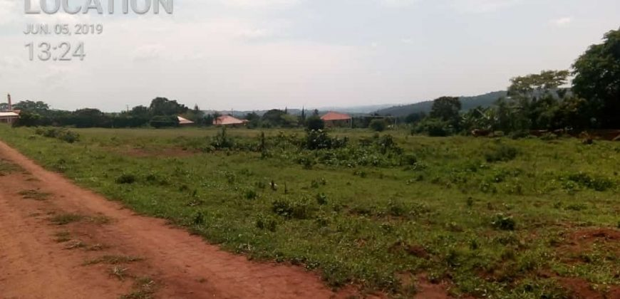 Plot for sale in Namugongo Sonde at shs 70,000,000