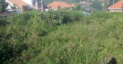 Plots for sale in Gayaza Canaan sites at shs 45,000,000