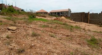 lot for sale in Kira Shimoni at shs 55,000,000