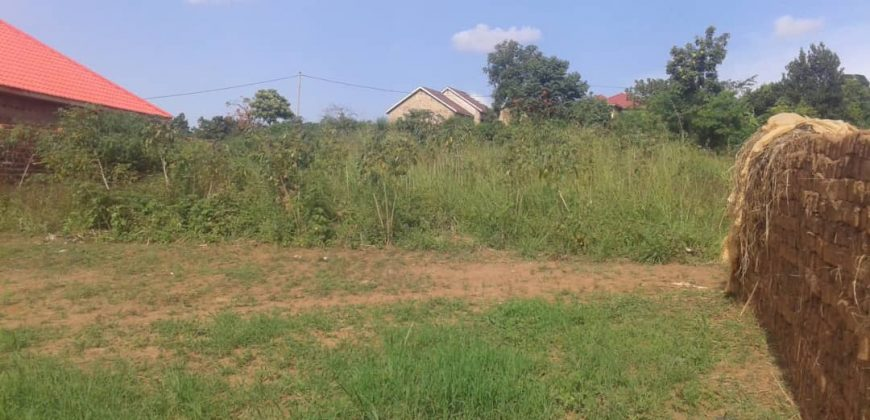 Plot for sale in Mbuya at shs 750,000,000