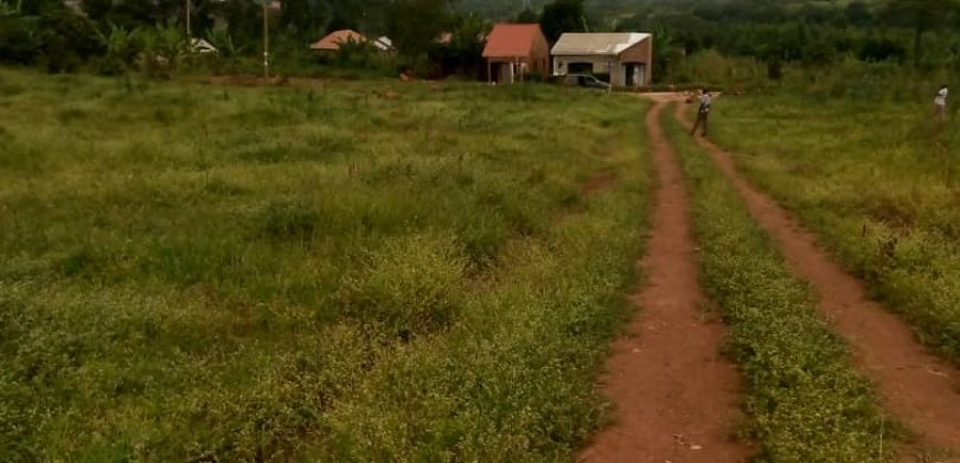 Land for sale in Bweyogerere at shs 550,000,000