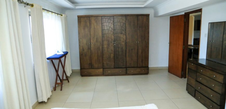 Fully furnished apartment for rent in Nakasero