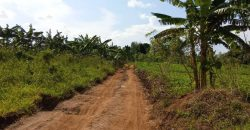 Land for sale in Gayaza Vvumba at shs 18,000,000