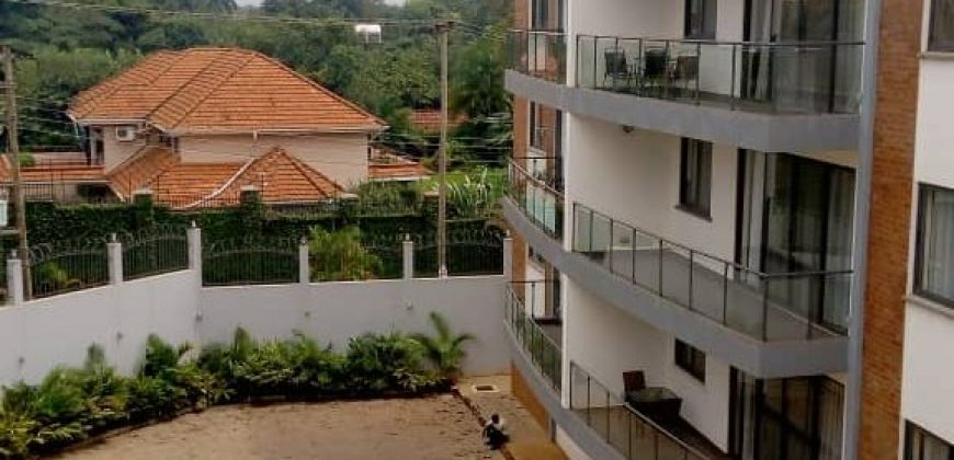 Stunning Apartments for rent in Kololo(fully furnished)