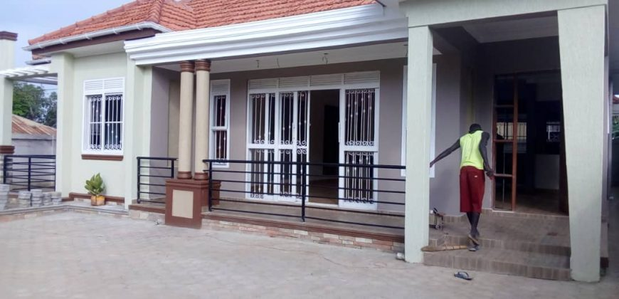 House for sale in Kira at shs 330,000,000