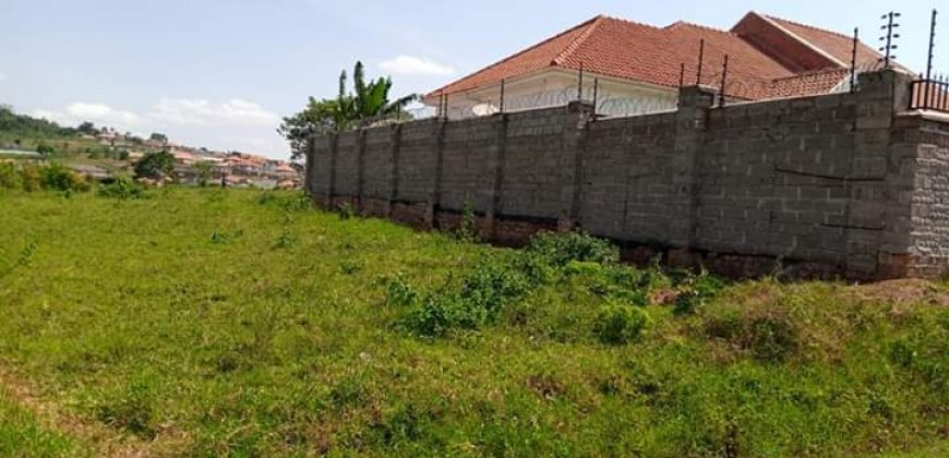 Plots for sale in Manyangwa at shs 50,000,000