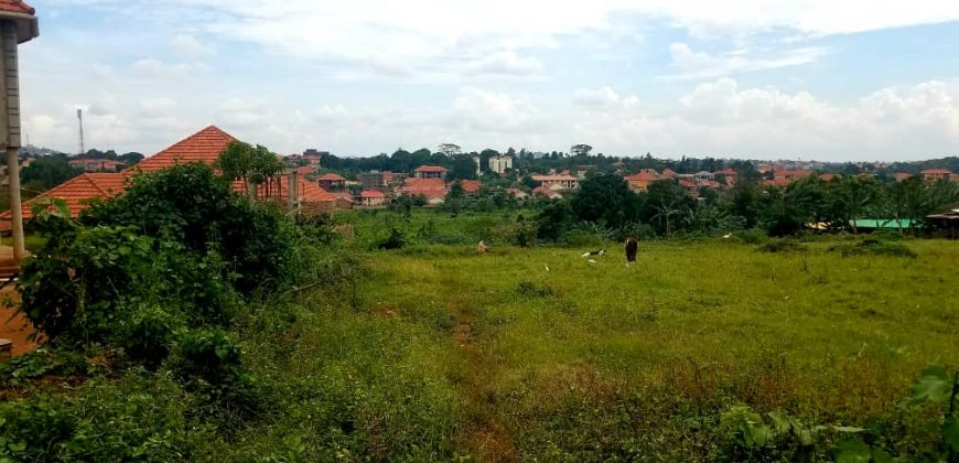 Plot for sale in Kira at shs 140,000,000