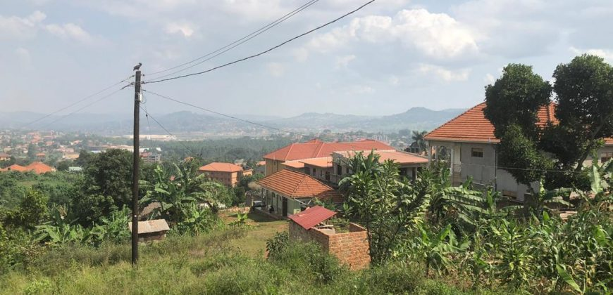Plots for sale in Wakiso at shs 50,000,000