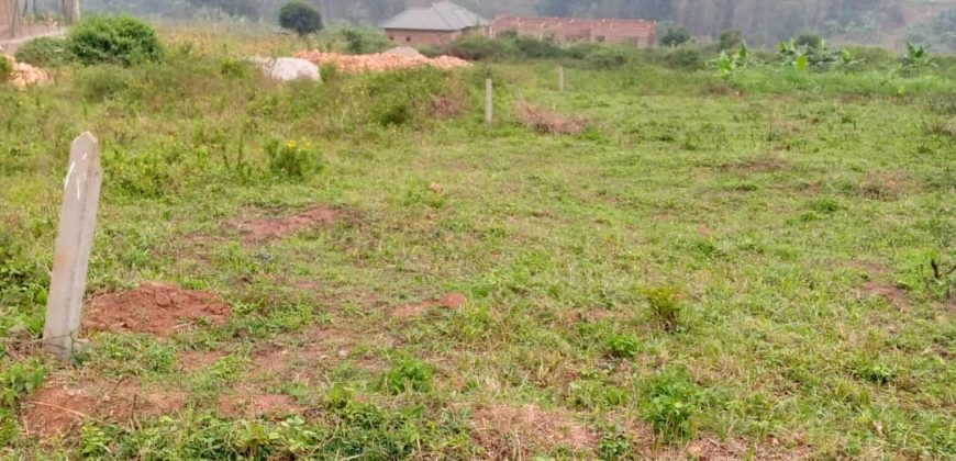 Plots for sale in Mukono Kisowera at shs 17,000,000