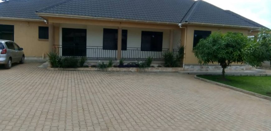 Houses for sale in Bulindo at shs 600,000,000