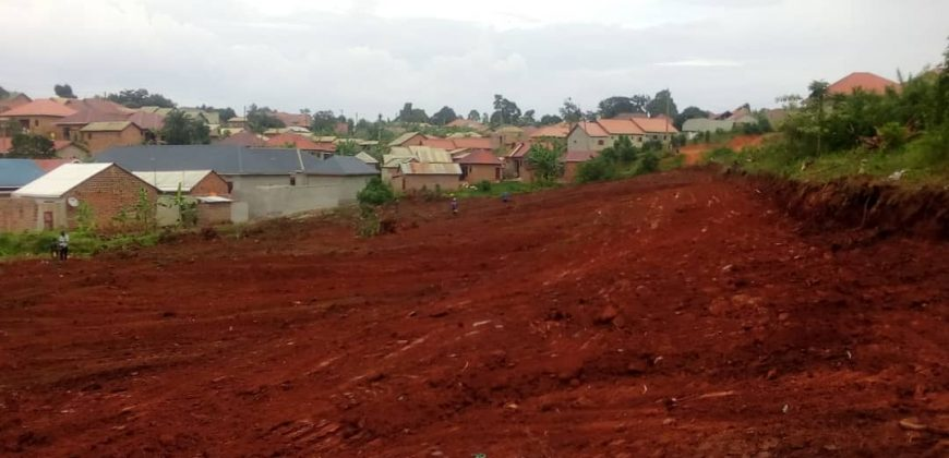Land for sale in Bombo at shs 2,900,000