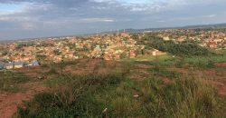Plots for sale in Nakasajja at shs 40,000,000