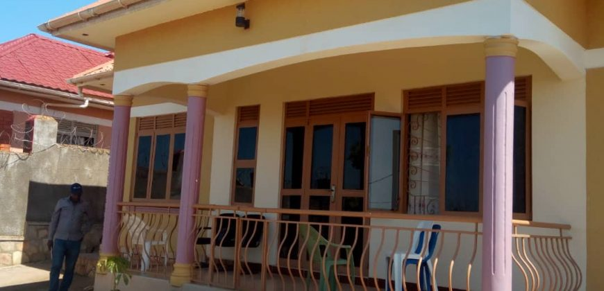Bungalow on sale in Bulenga at shs 195,000,000