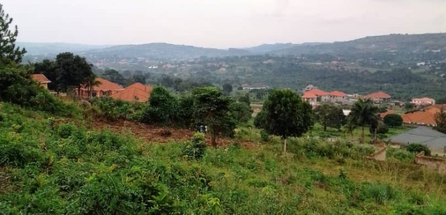 Plots for sale near Ebony villa along Sekiwungo road at shs 160,000,000