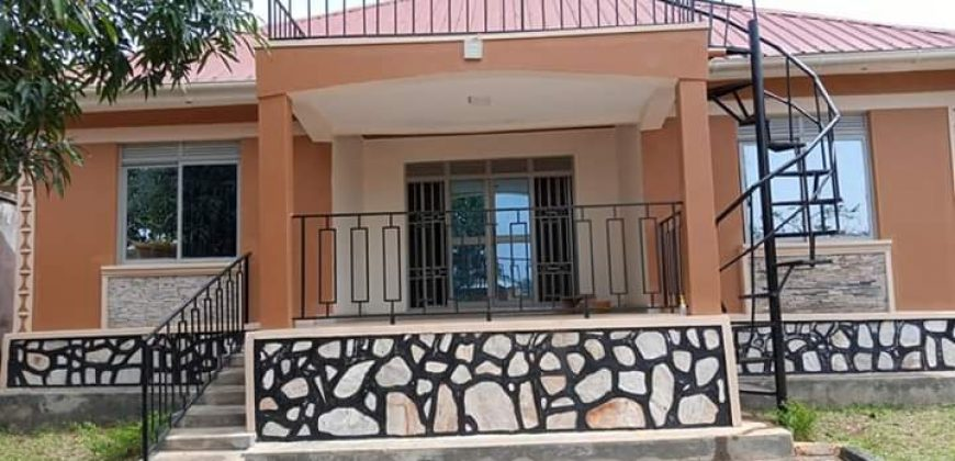 House for sale in Namugongo at shs 250,000,000
