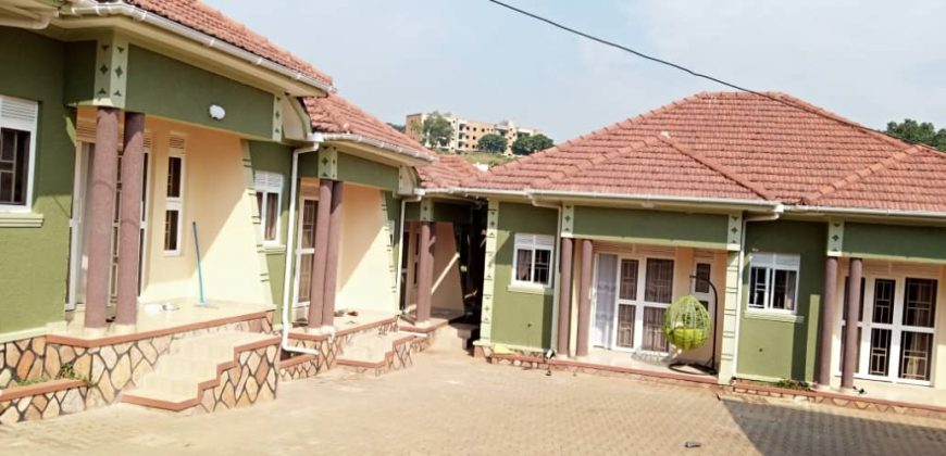 Rental units for sale in Kyanja at shs 550,000,000