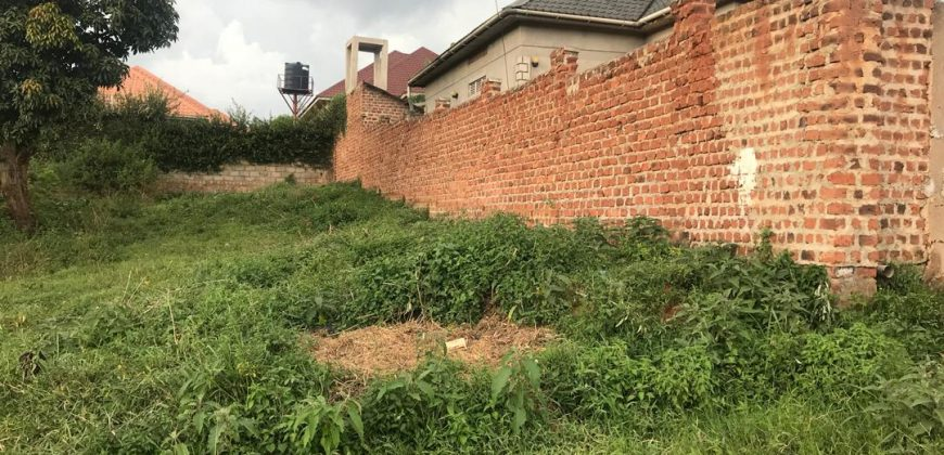 Land for sale in Canaan estate Manyangwa at shs 35,000,000