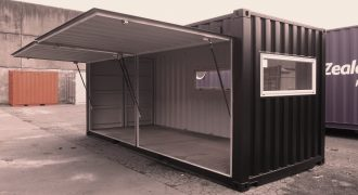 I CREATE LIVING SPACE FROM STEEL AND SHIPPING CONTAINERS
