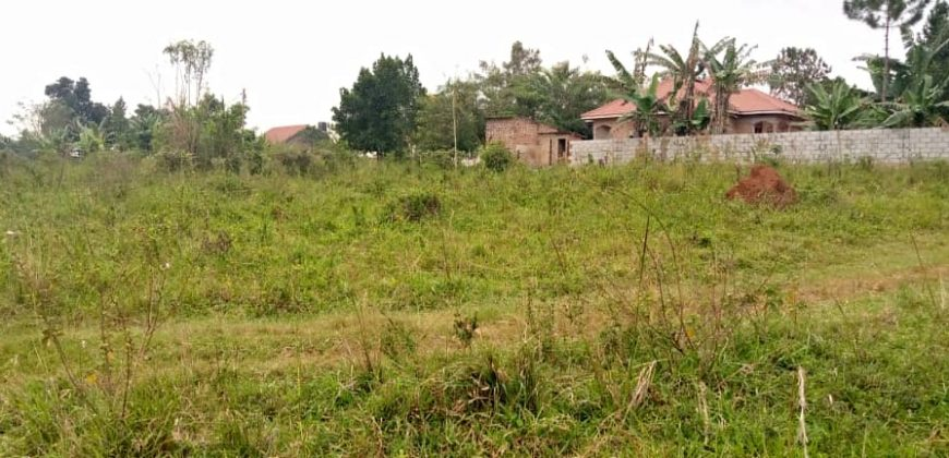 Plots for sale in Mukono Mpoma at 13,000,000