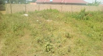 Plot for sale in Nkumba Canaan Estate Ntebe road at shs 35,000,000