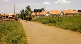 Plots for sale in Kyaliwajjala at shs 450,000,000