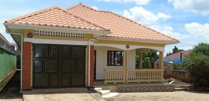 House for sale in Mukono at shs 150,000,000