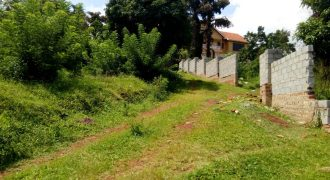 Plots for sale in Zana Nfufu at shs 85,000,000