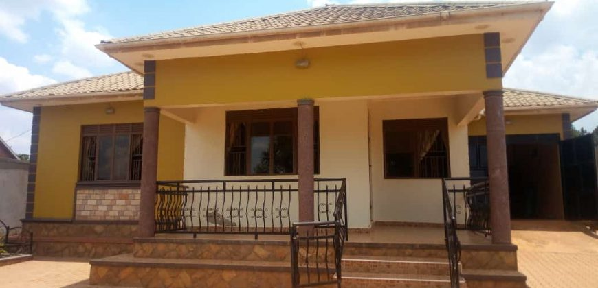 House for sale in Kyanja at shs 300,000,000
