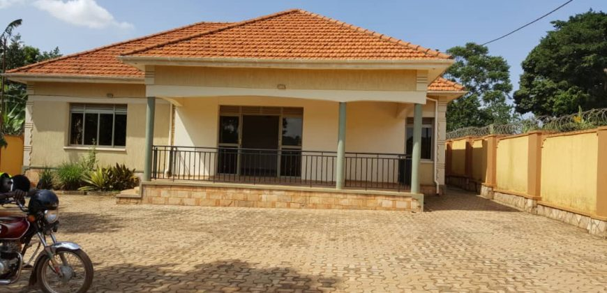 House for sale in Kira at shs 280,000,000