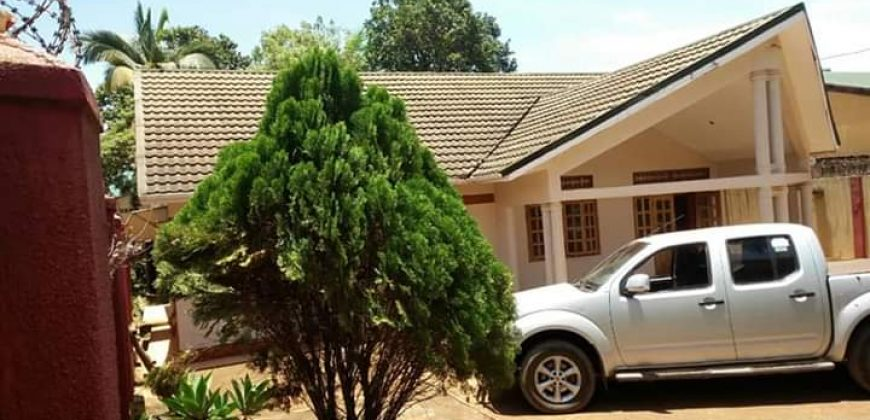 House for sale in Ntinda stretcher at shs 550,000,000