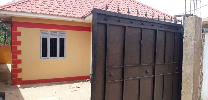 House for sale in Bunga at shs 82,000,000