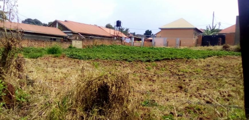 Plots for sale in Buziga Bukasa at shs 500,000,000