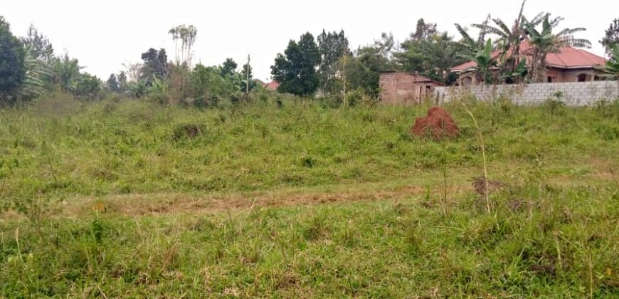 Plots for sale in Katosi at shs 15,000,000