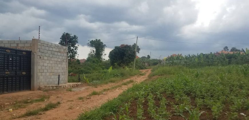 Plots for sale in Bwerenga at shs 35,000,000