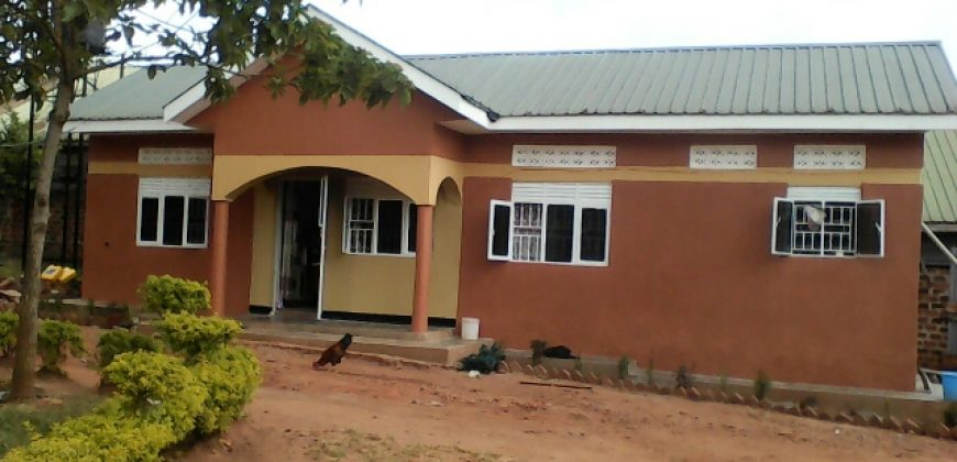 House for sale in Namugongo at shs 260,000,000