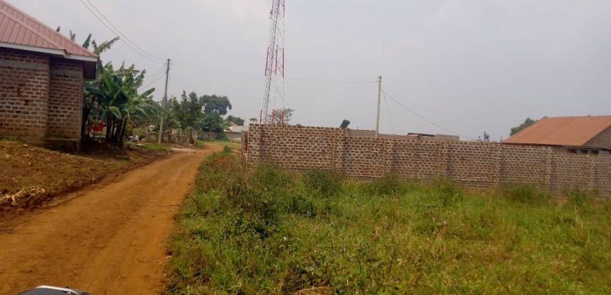 Plots for sale in Bwerenga at shs 350,000,000