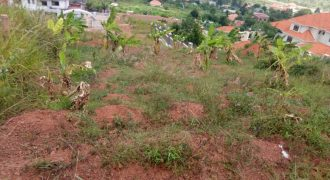 Plots for sale in Bwebajja at shs 120,000,000