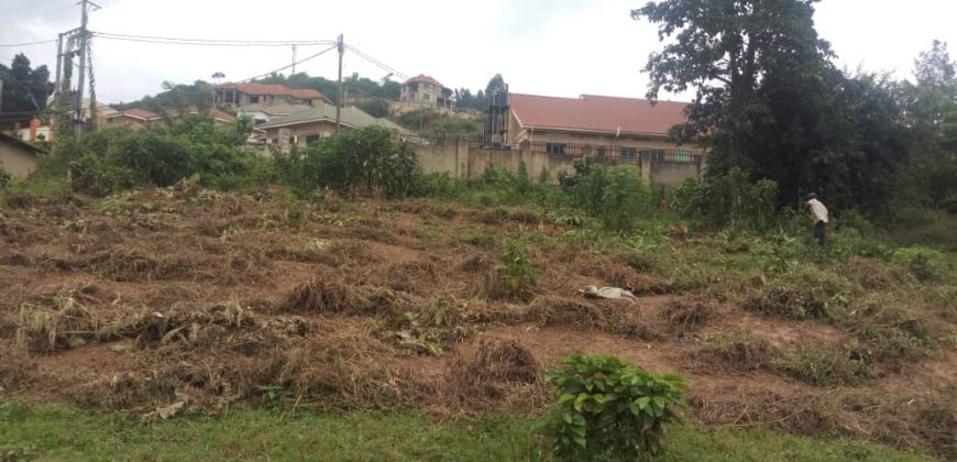 Plots for sale in Bunga at shs 250,000,000