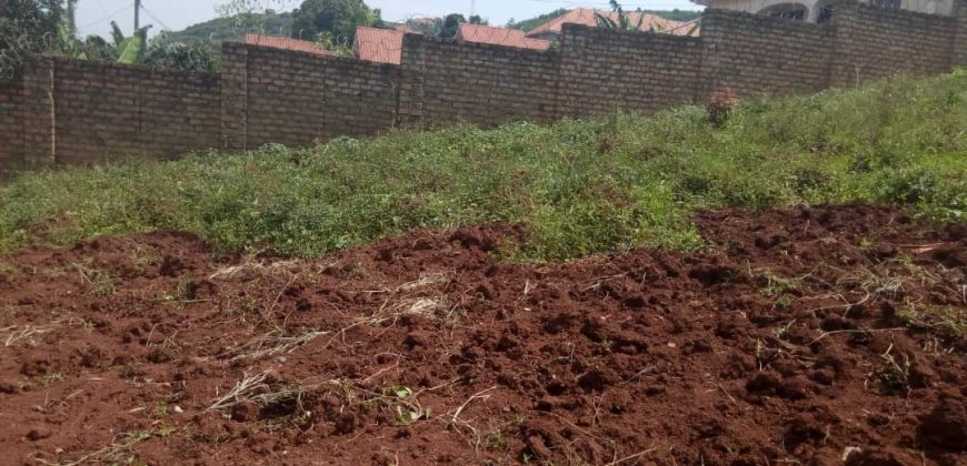 Plots for sale in Mukono Kisowera at shs 26,000,000