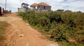 Plots for sale in Bwerenga Entebbe road at shs 85,000,000